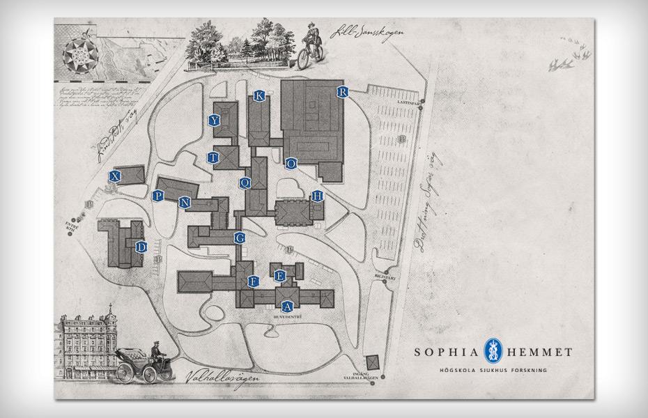 sophiahemmet karta SOPHIAHEMMET – Lokko & Robson sophiahemmet karta